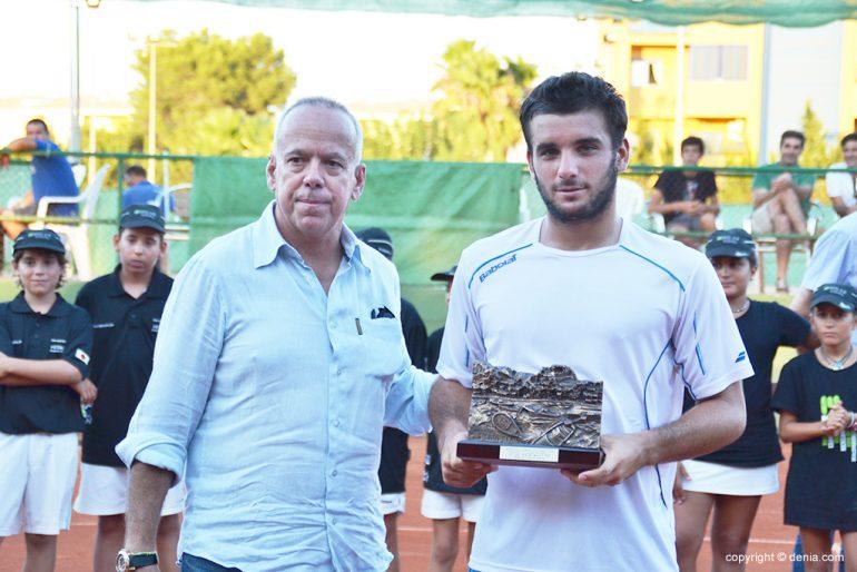 Oriol Roca con Antonio Martínez Cascales