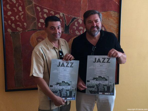 Rafa Carrió i Enric Peidro presenten el festival de jazz a Torrecremada