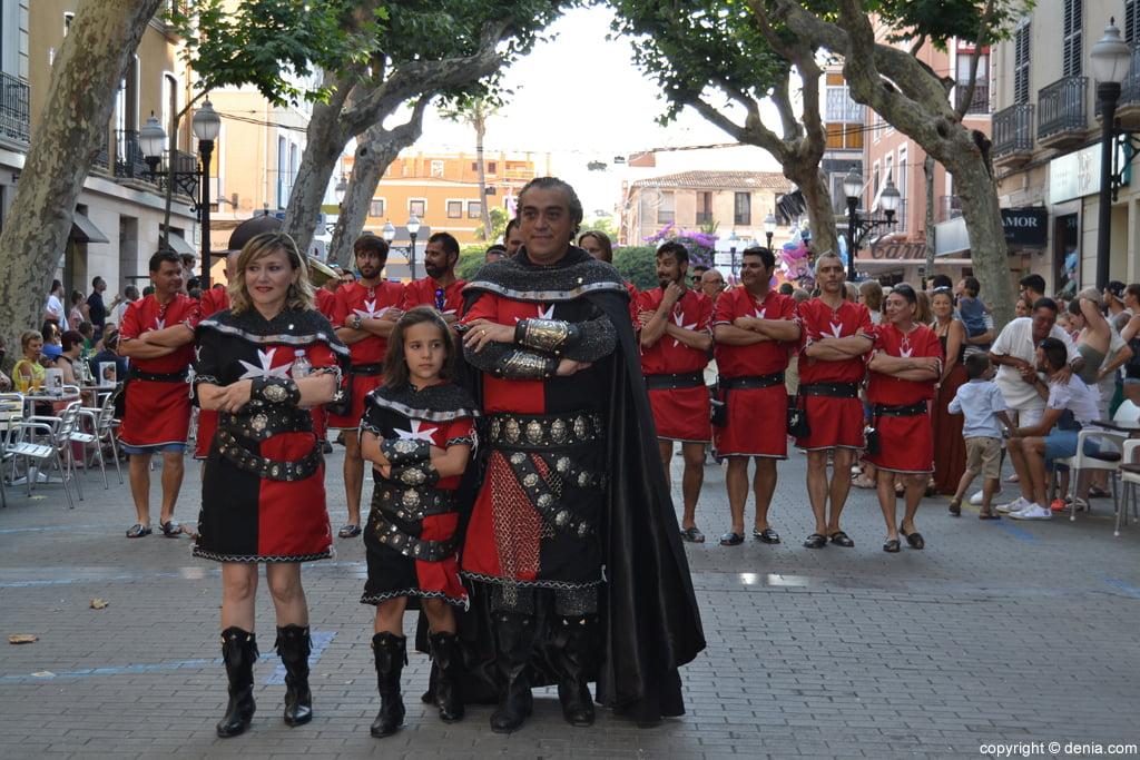 Festivités de Dénia - Entraeta de Maures et Chrétiens - Capitaine chrétien
