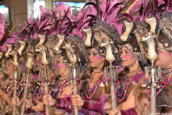 0134 Desfile de gala moros i cristians - Amazigh