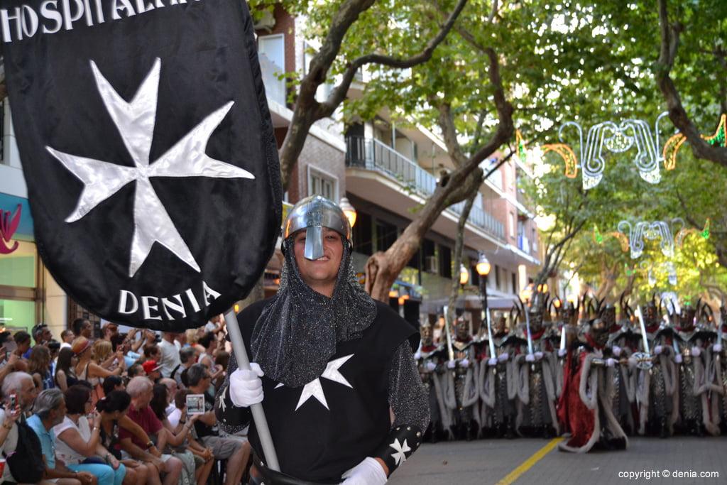 Défilé de gala Dénia 2014 - Filà Hospitalaris
