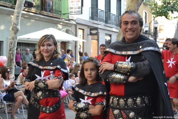 Dénia partis - Entraeta des Maures et des Chrétiens - le capitaine Christian