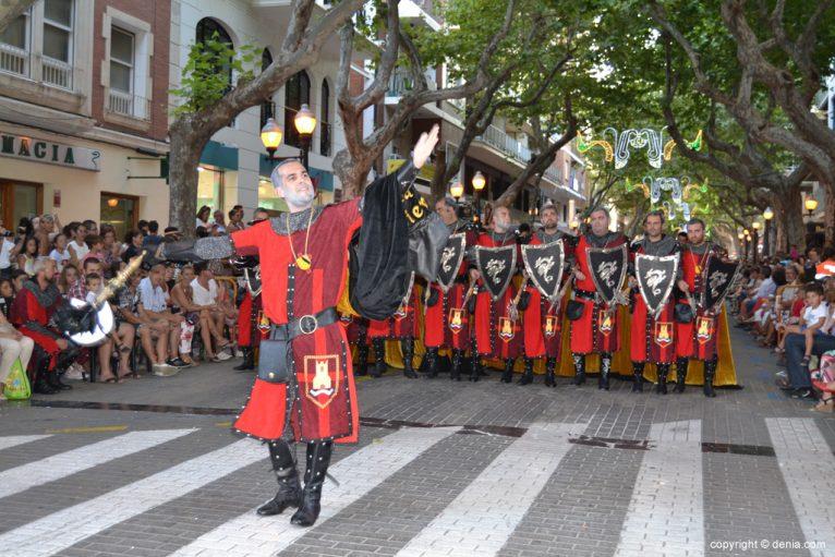 Desfile de gala Dénia 2014 - Filà Deniers