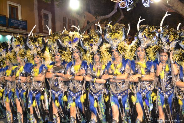 Desfile de gala Filà Alkamar - Escuadra