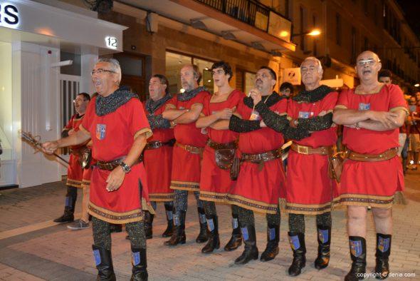 37 Retreta final Moros y Cristianos Dénia 2014 - Filà Mozarabes