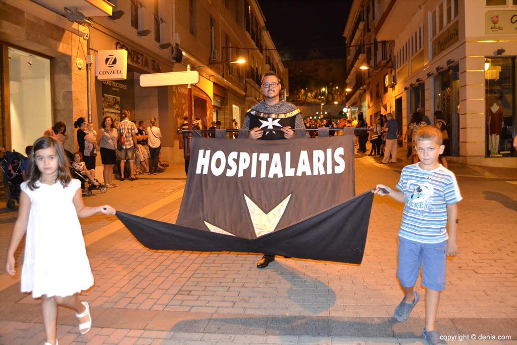 Retraite finale Maures et Chrétiens Dénia 2014 - Filà Hospitalaris