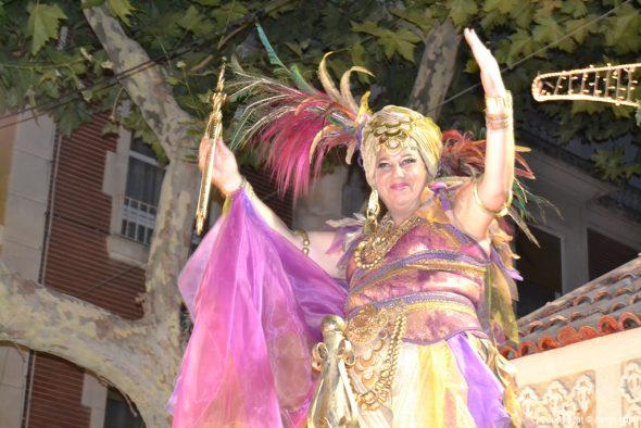 Desfile de gala Filà Alkamar - Mabel Buigues
