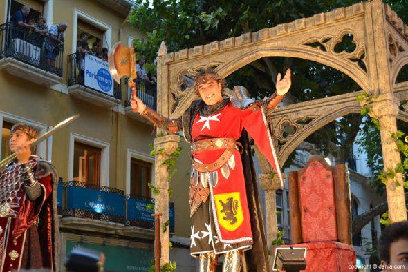 Desfile de Gala Guerrers Hospitalaris - Escolta del capitán
