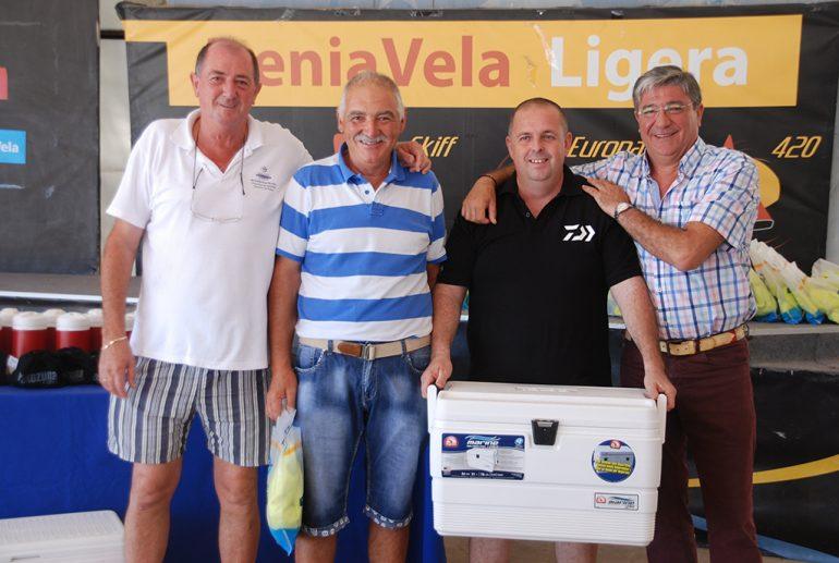 Antonio Sarch fishing contest winner