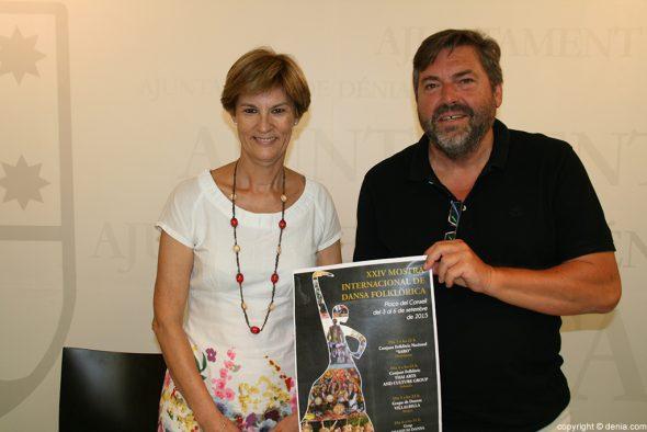 Cartel de la Mostra Internacional de Dança Folclórica