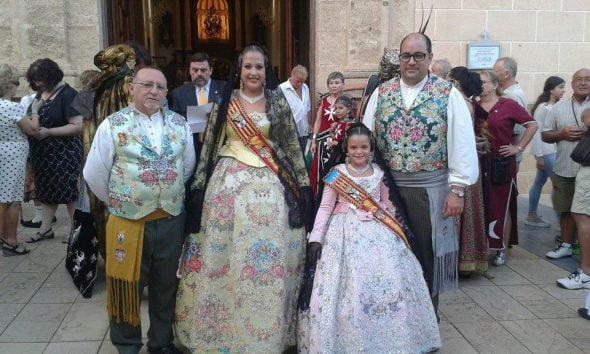En la procesión de Sant Roc