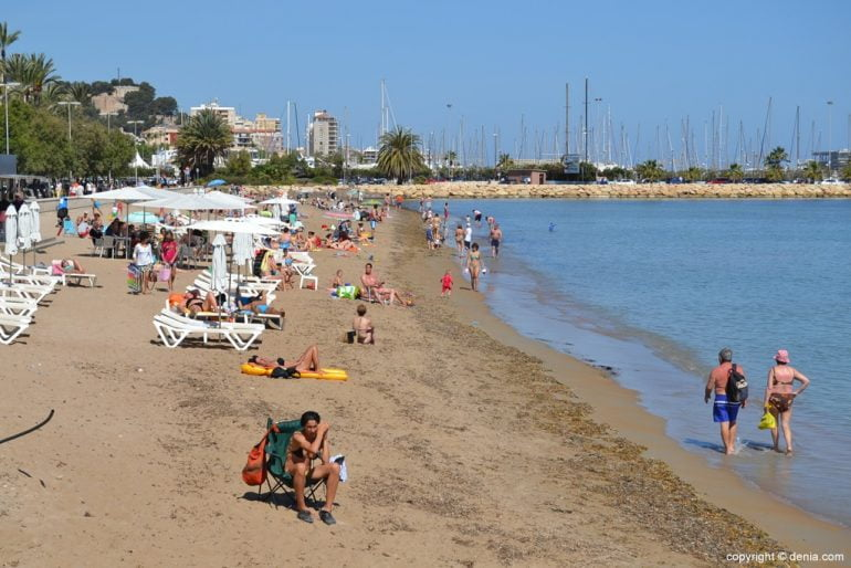Beach Marineta Casiana Dénia