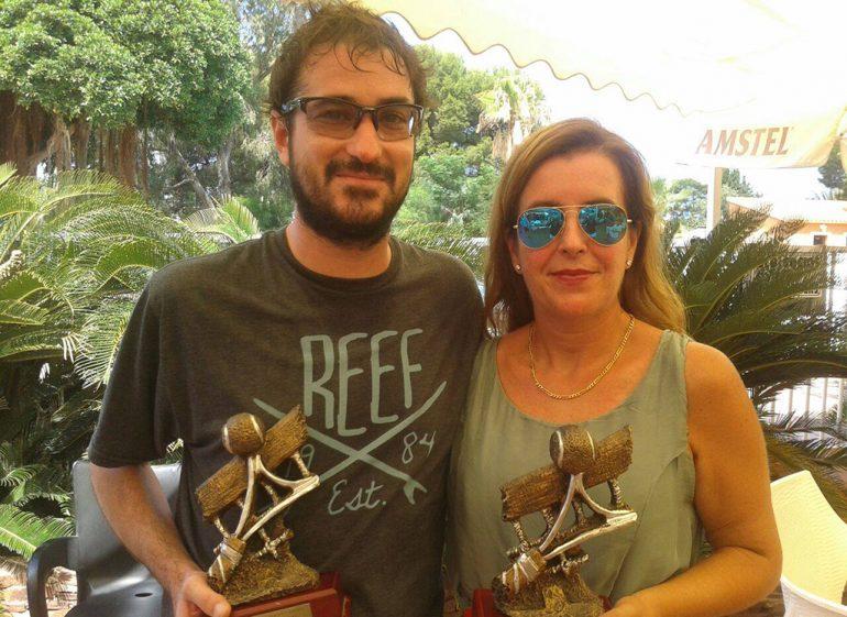 Quicoles Romany and María Attard winners of the IV Memorial Tennis Juan Periañez