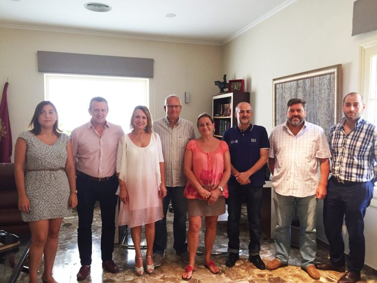 Reunión de CEDMA con el alcalde de Dénia