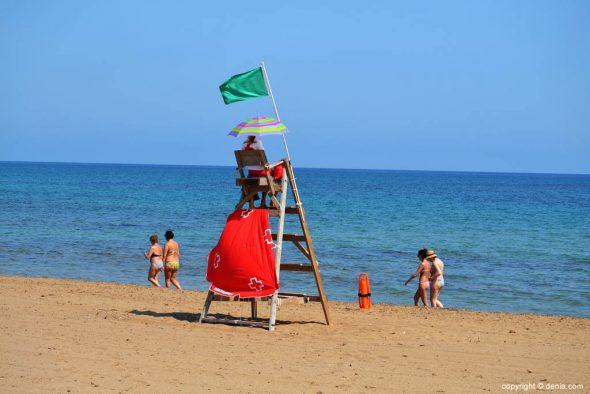 Red Cross lifeguard Els Molins