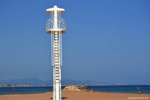 Torre de vigilancia Playa Els Molins