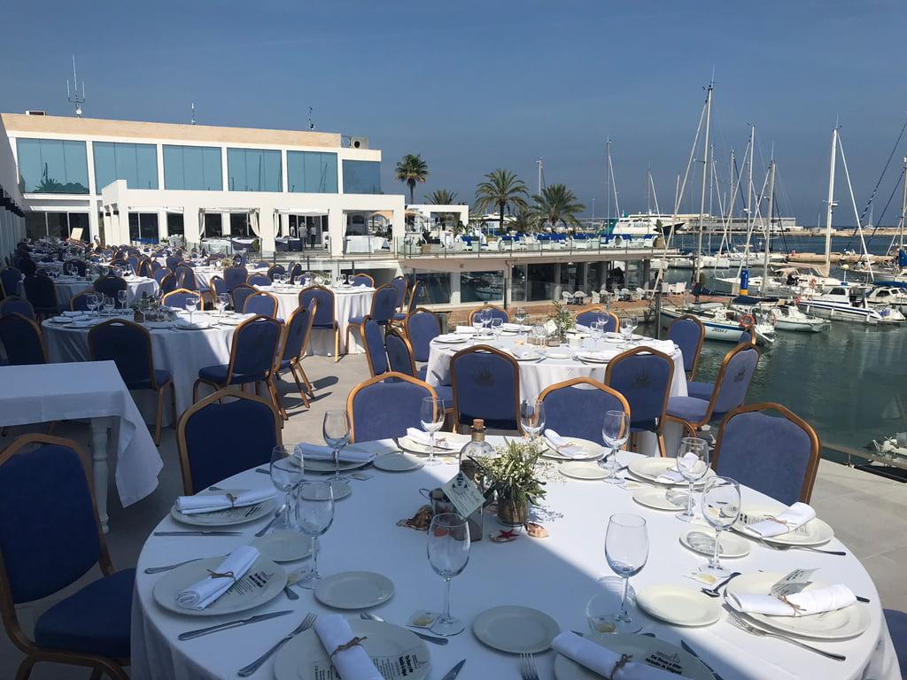 Celebraciones exteriores Restaurante Balandros