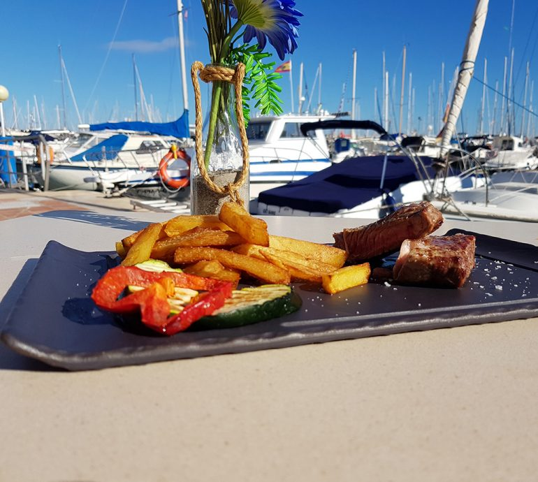 Deliciosa comida Restaurante Balandros