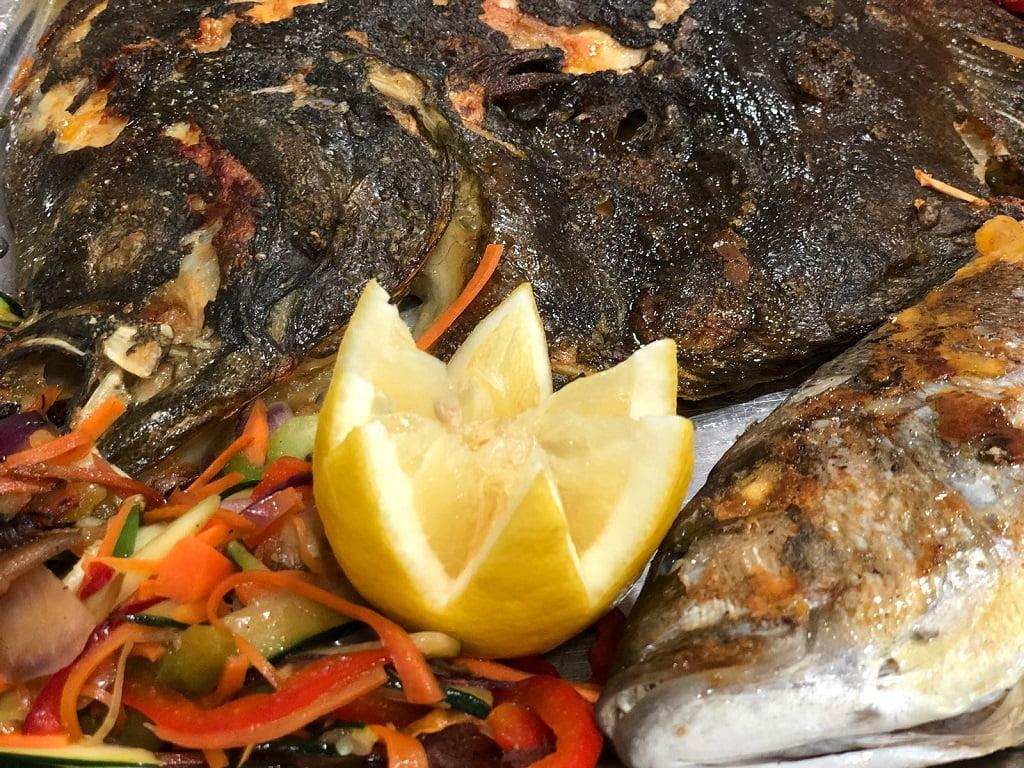 Detalles comida Restaurante Balandros
