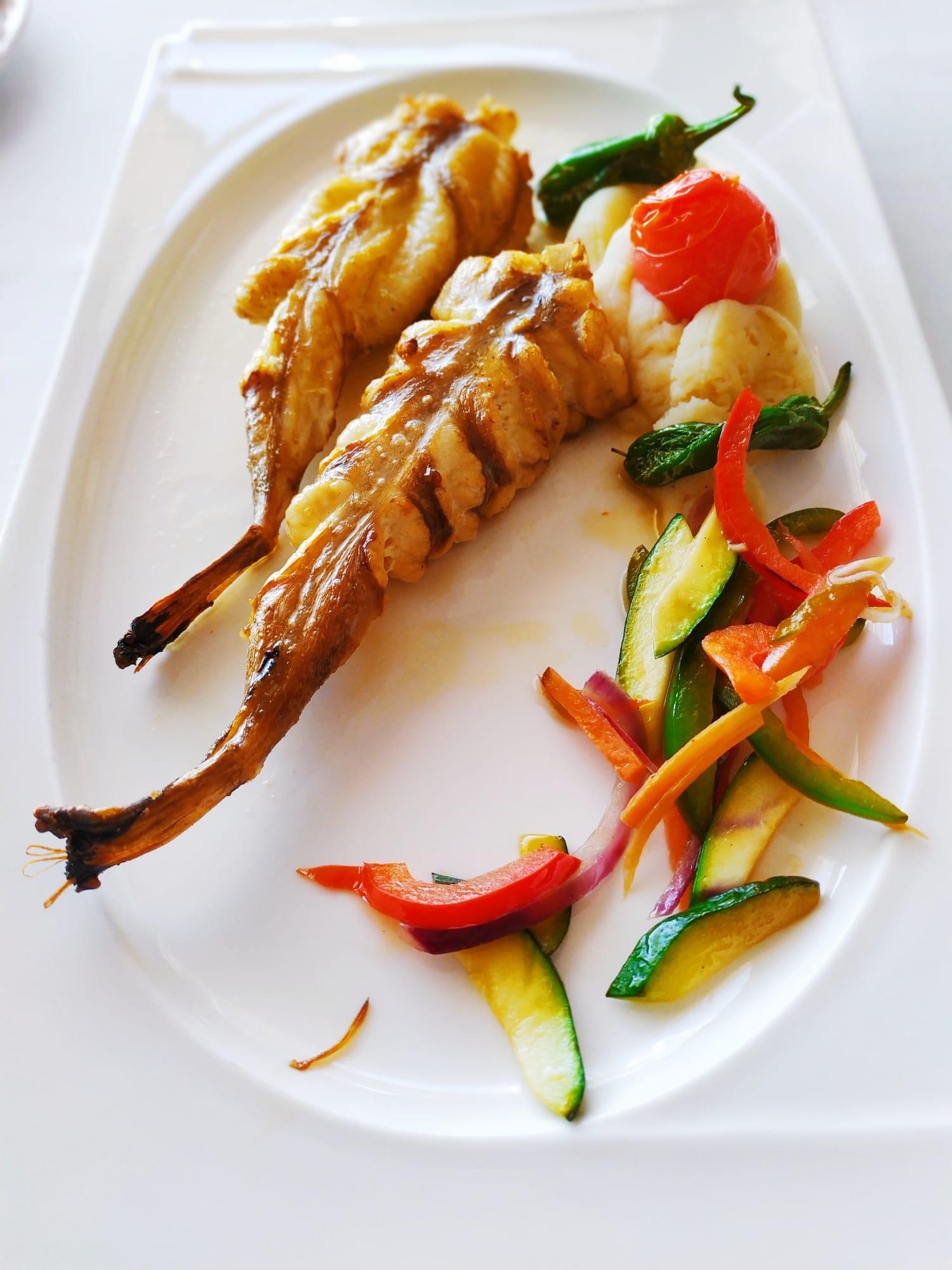 Exquisitos platos en Restaurante Balandros
