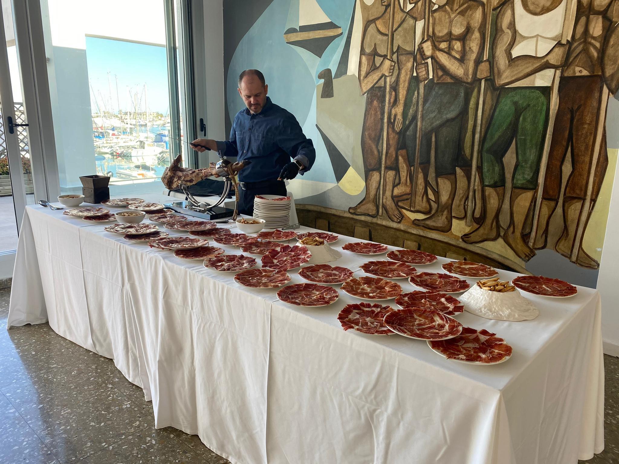 Mesa aperitivo – Restaurante Balandros