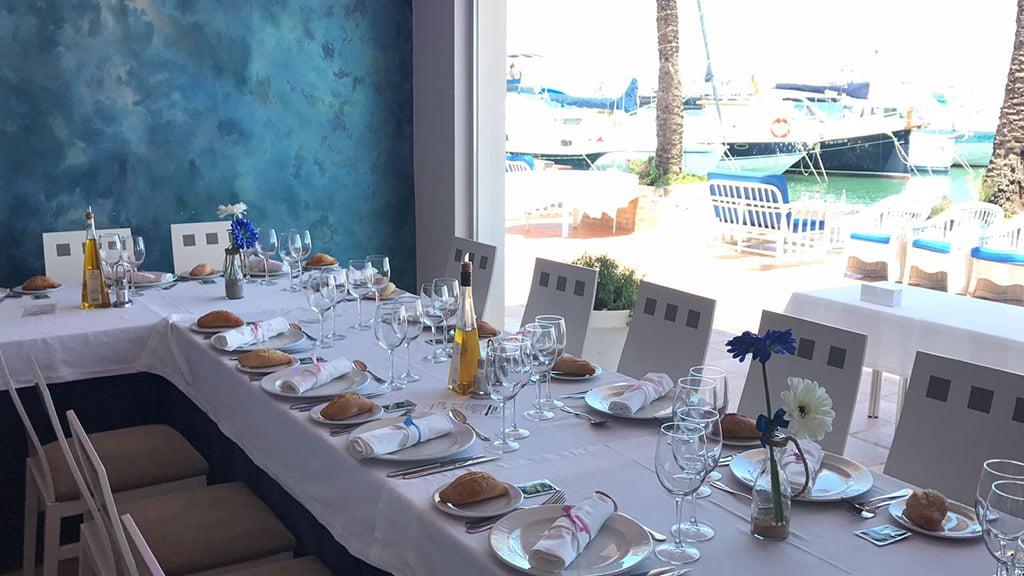 Mesas Restaurante Balandros