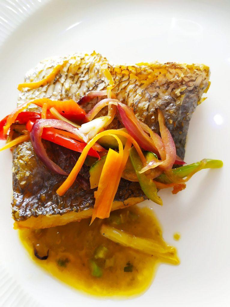 Pescado en Restaurante Balandros