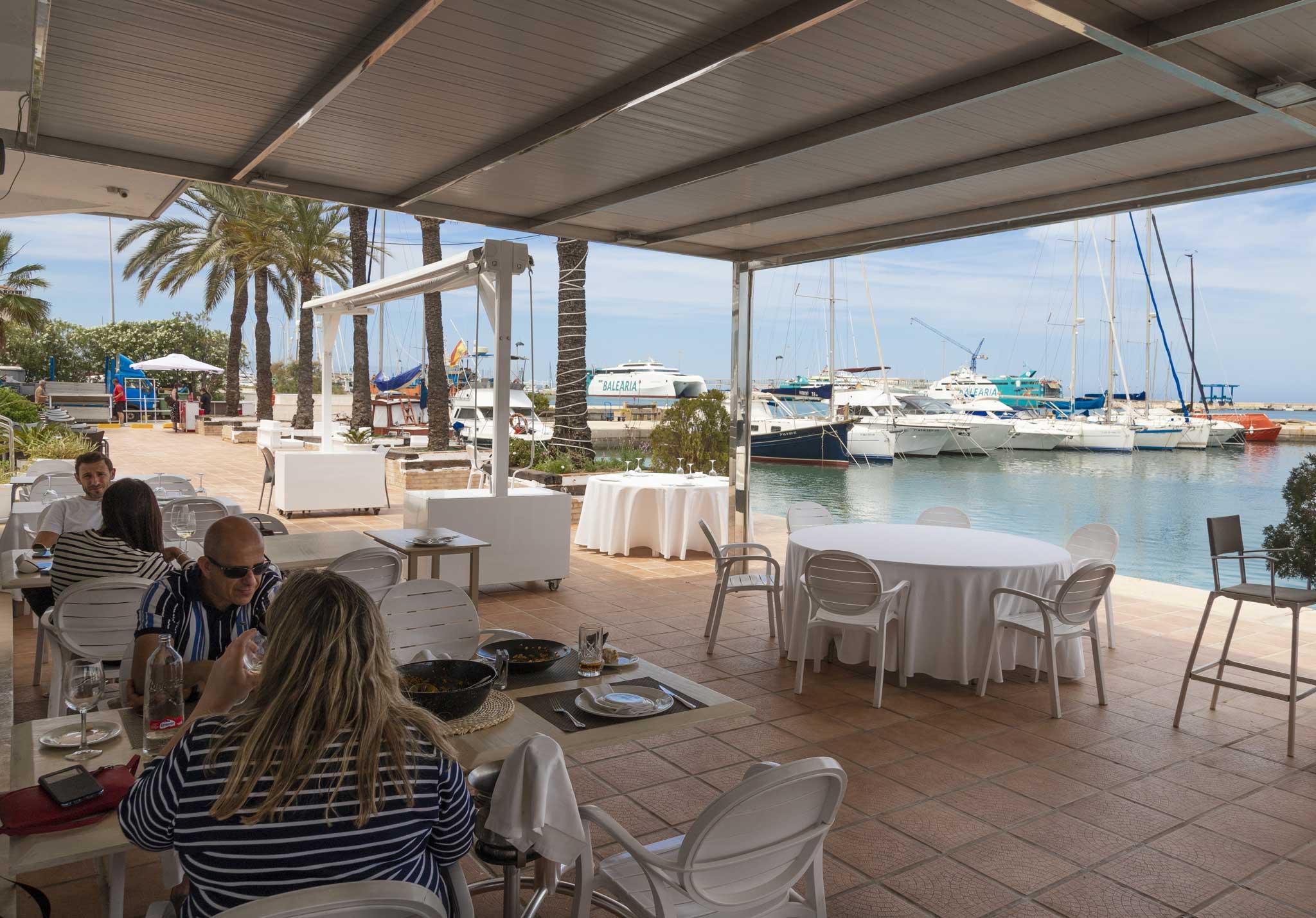 Restaurante con vistas al mar – Restaurante Balandros