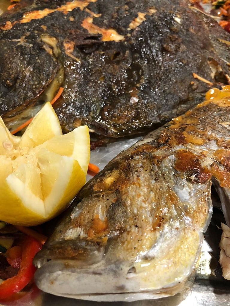 Rico pescado Restaurante Balandros