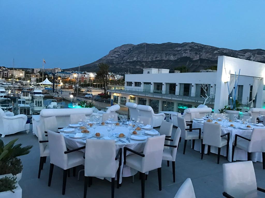 Terraza exterior Restaurante Balandros