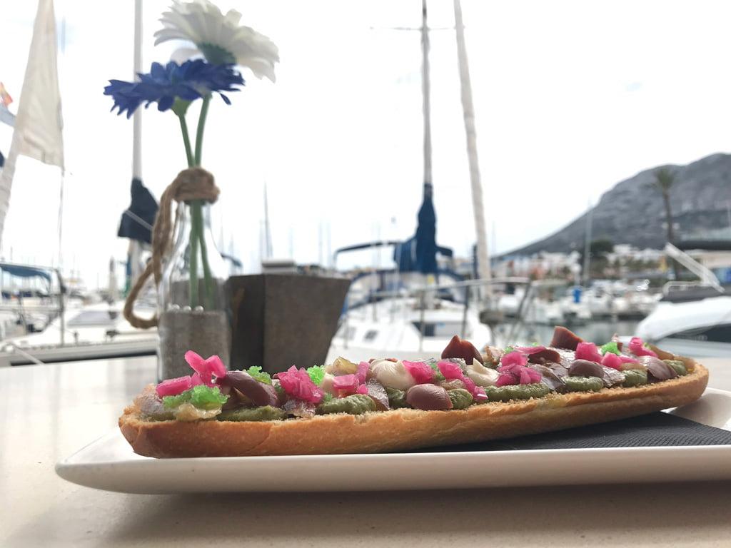 Tostada Restaurante Balandros
