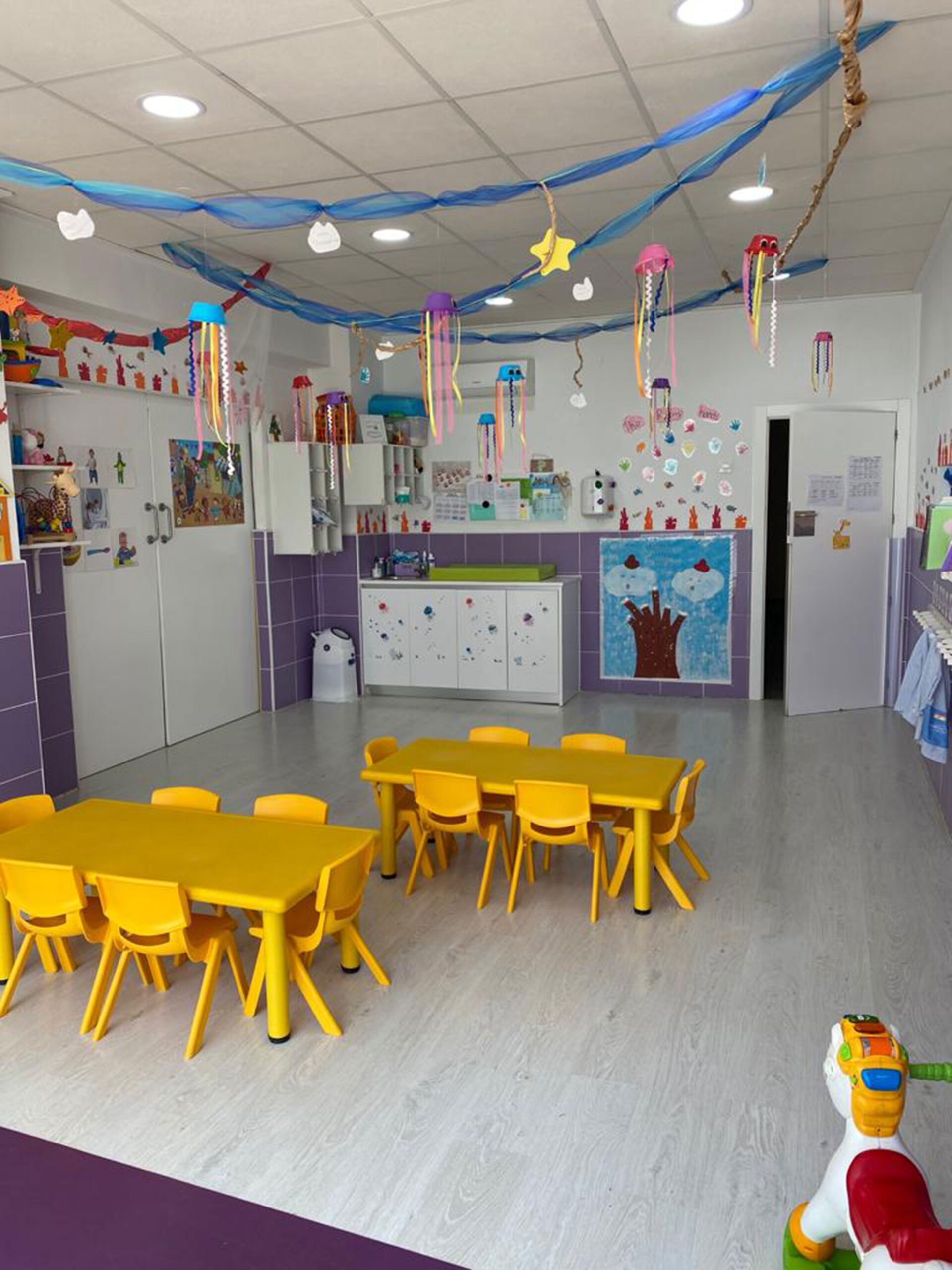 A CEI Bombonets classroom