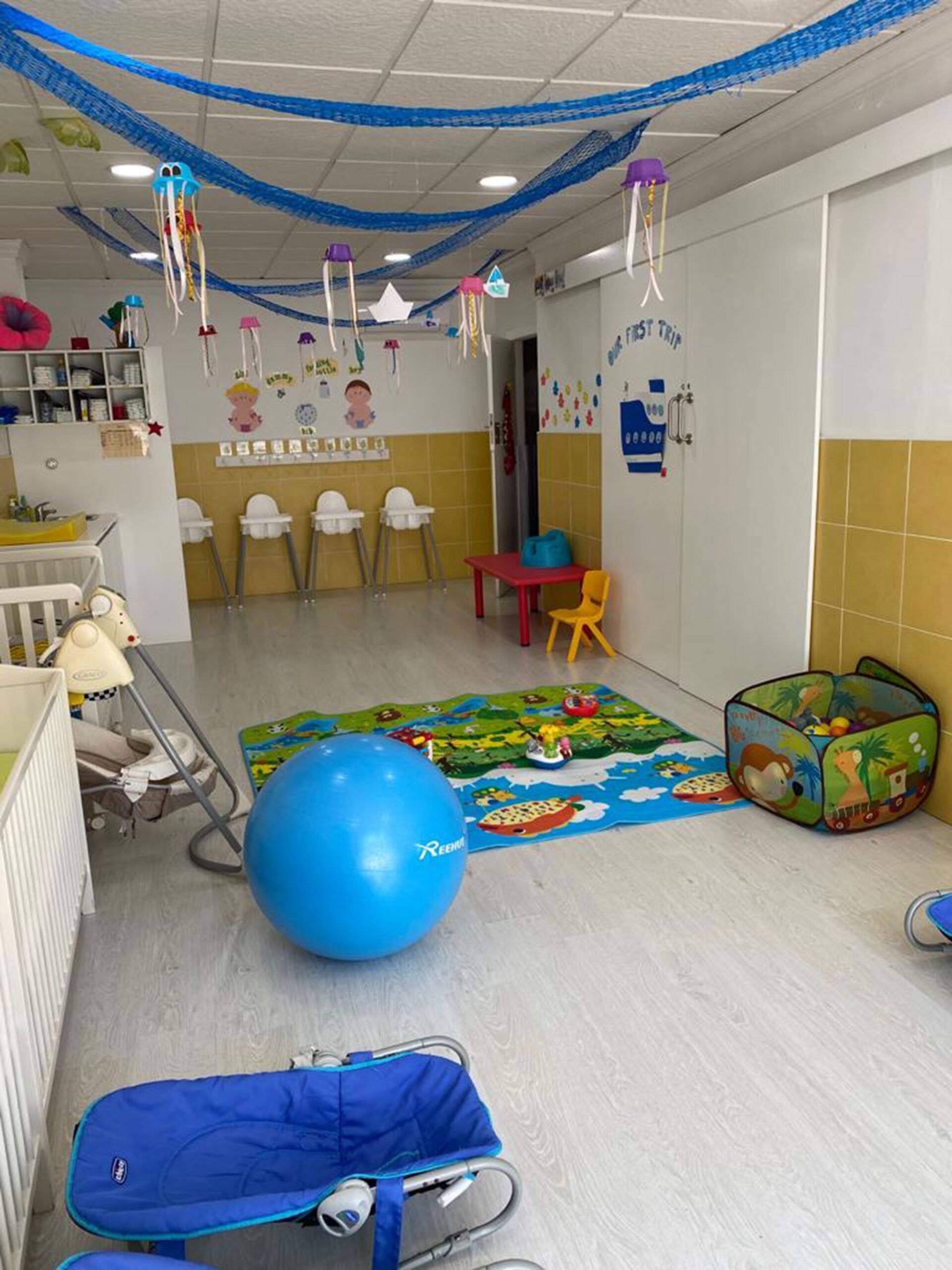 Area adapted for babies in CEI Bombonets