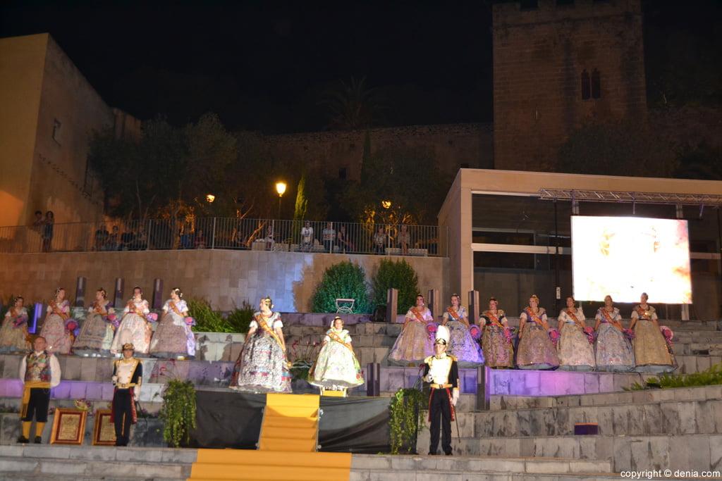 09 Presentación Falleras Mayores de Dénia 2016 - Escenario