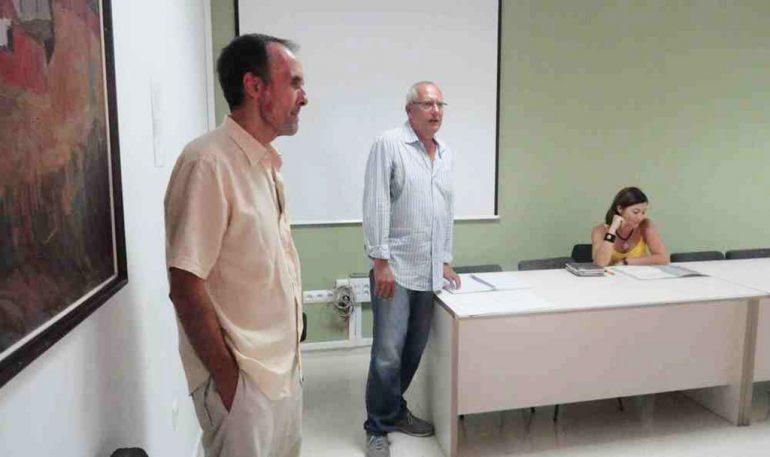 Antonio Losada junto a Vicent Grimalt