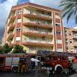 Bloque de viviendas afectado por el incendio