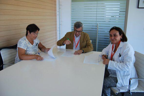 Convenio entre Marina Salud y Grup Nodrissa