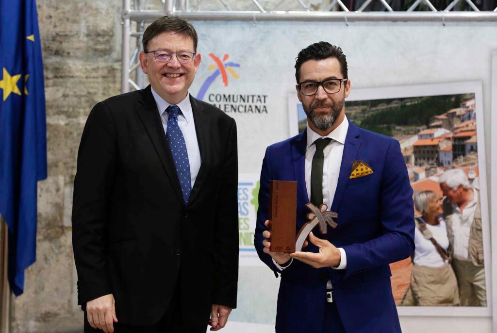 Entrega Premis Turisme CV 2014 - Quique Dacosta y Ximo Puig