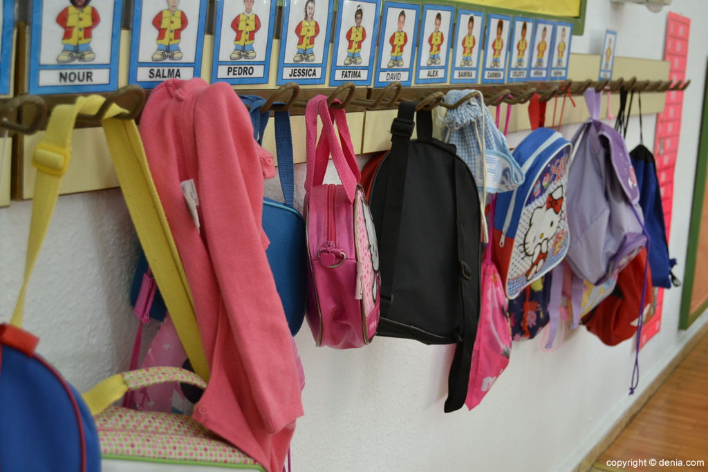 Schooling for children two years in Dénia