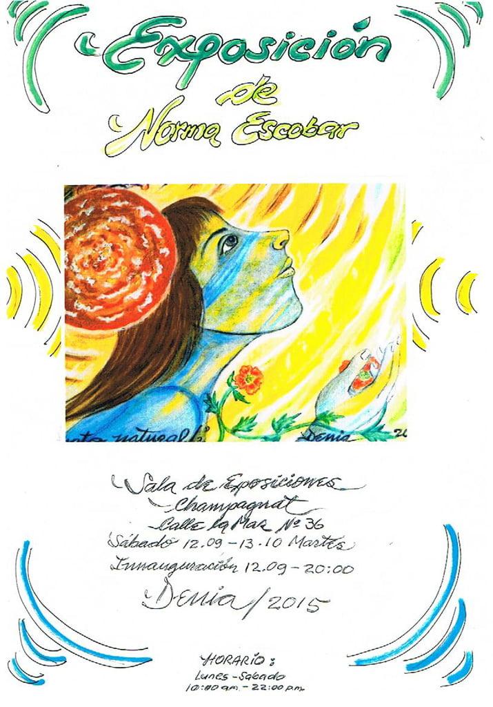 Norma Escobar exhibition