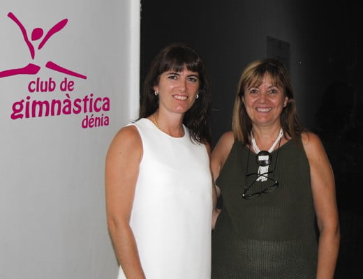 Karina Raso junto a Nela Viciano