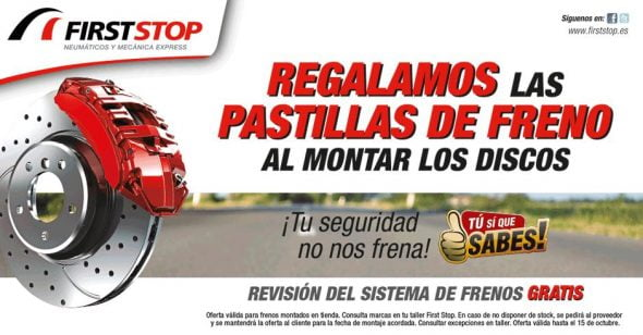 Oferta septiembre First Stop