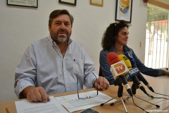 Rafa Carrió - Conseiller pour l'éducation de Dénia