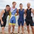 Triatletas dianenses en el Trixàbia