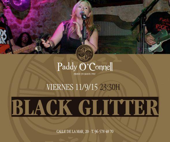 concierto 11 septiembre Black Glitter