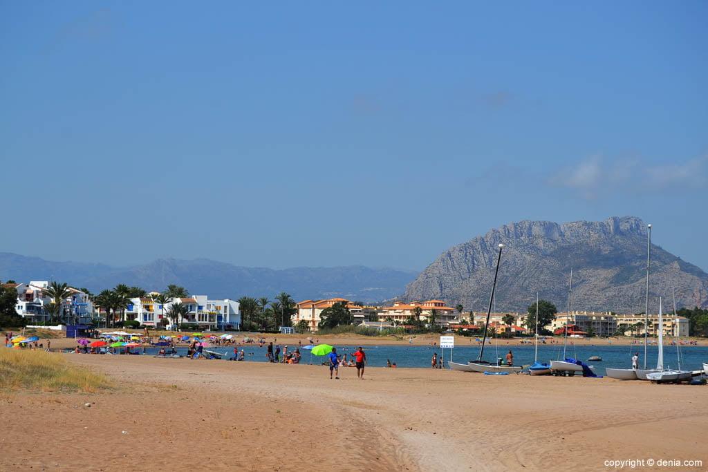 spiaggia di sabbia Els Molins