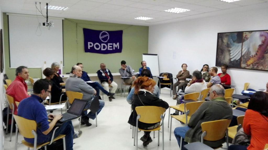 Denia Assemblea Podem nel mese di ottobre 2015
