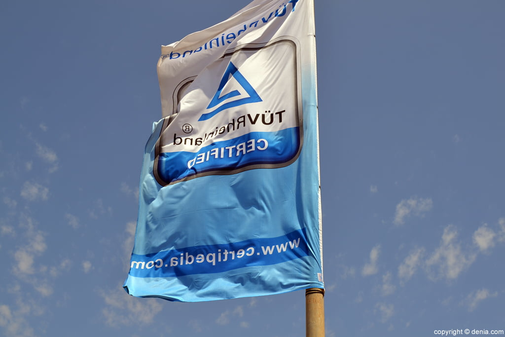 Bandera de calidad El Trampolí Dénia