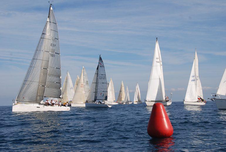 Barcos participantes en la XIX Copa del Canal