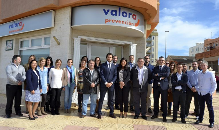 Inauguration of the new premises of Valora Prevention in Dénia